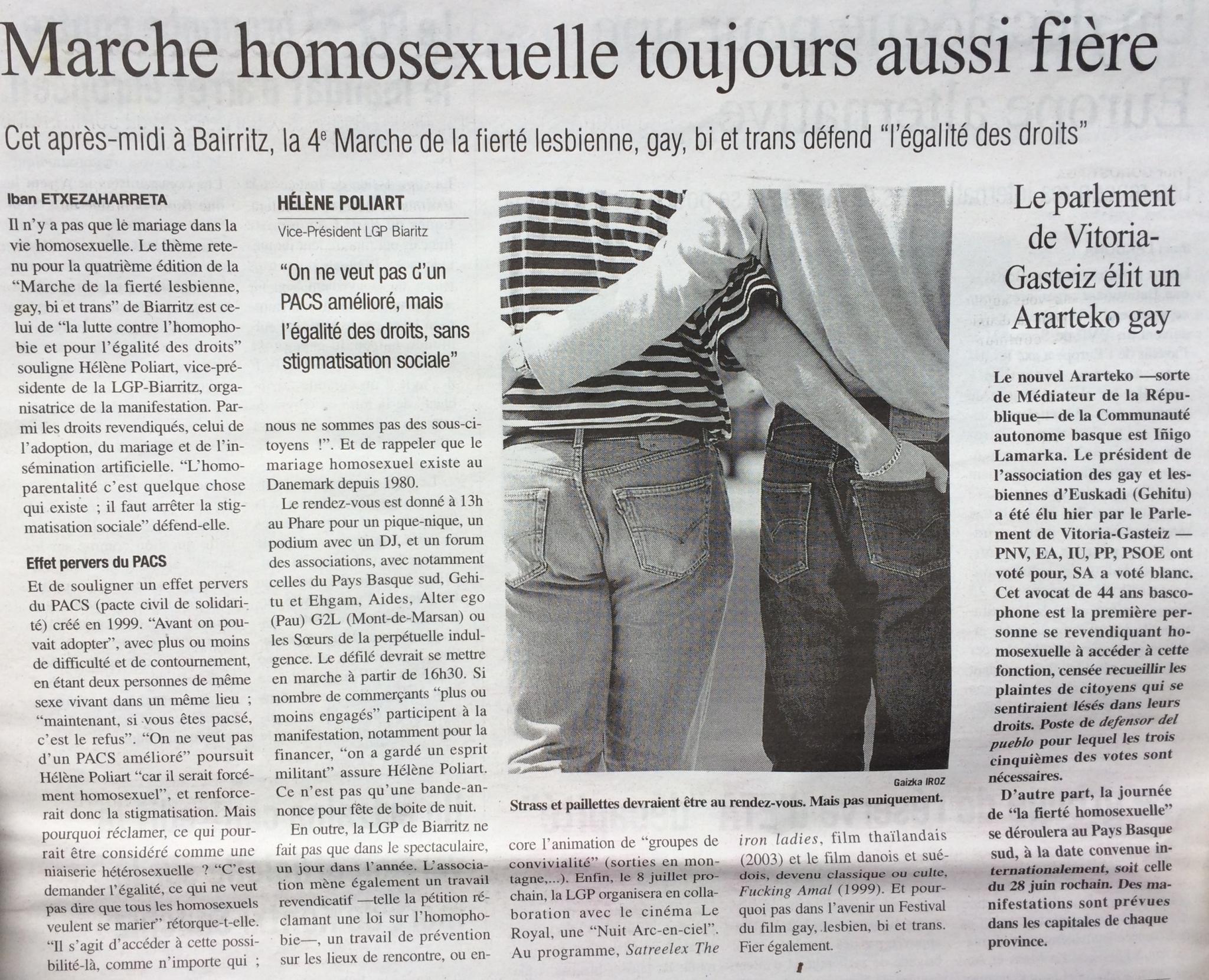 le journak du Pays Basque 20 juin 2004.jpg